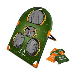 Link to NKOK RealTree Games Bean Bags Toss Game Set Similar Items in Outdoor Play