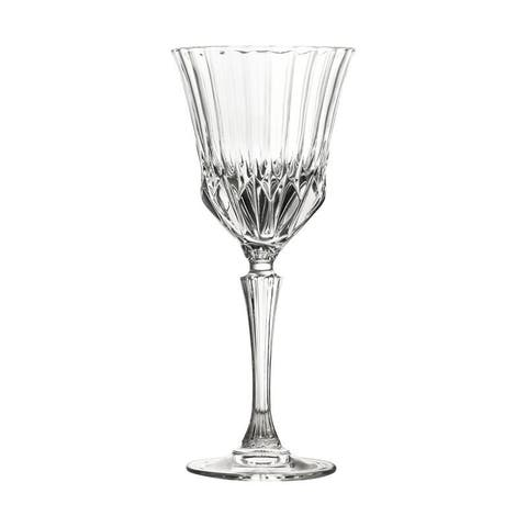 10 Strawberry Street Adagio 7 Oz Red Wine Crystal Glass, Set of 6