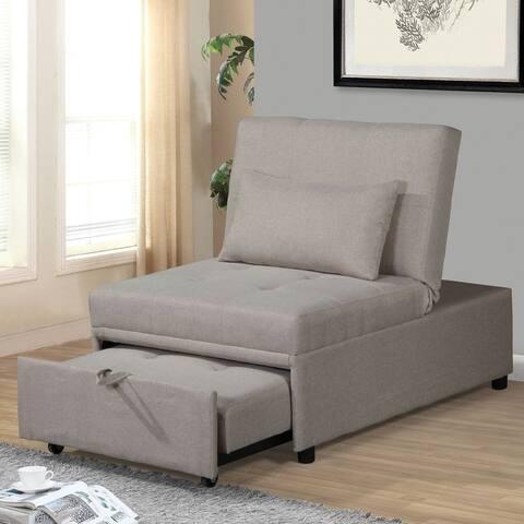 Copper Grove Bukhara Beige Convertible Chair