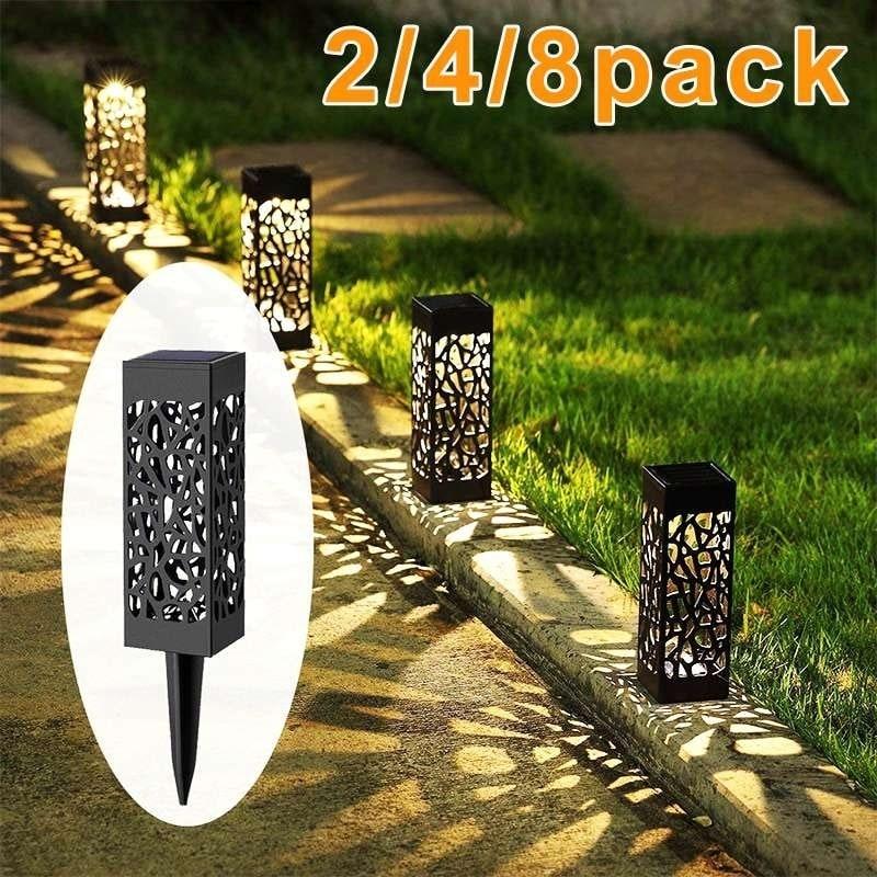 Solar Ed Led Garden Lights