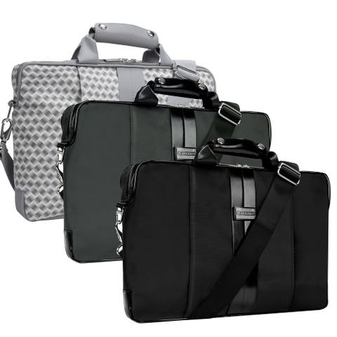 Messenger Bag Business College Travel Briefcase for 15.6-Inch Laptop