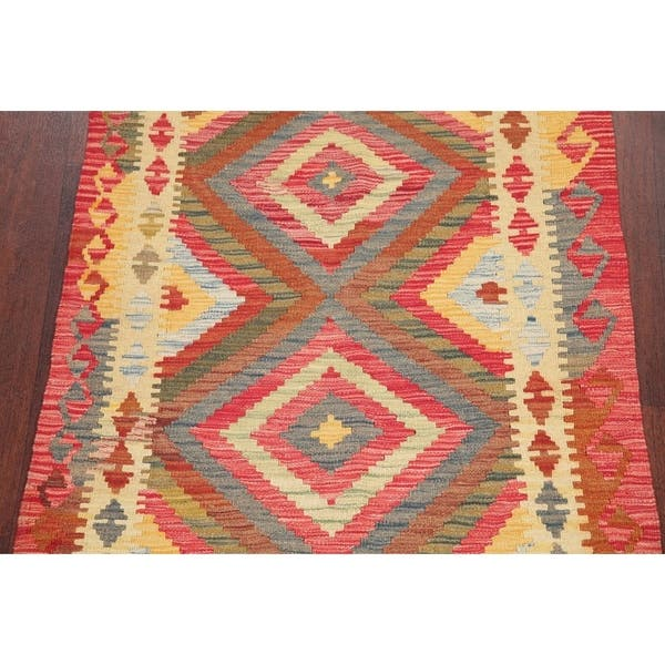 Home Decor 4/'6 x 8/'4 Turkish Kilim Rug Hand Woven Flat Weave Area Rug Jajim 53 x 100    * Entryway Rug
