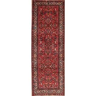 Vintage All-Over Geometric Lilian Persian Runner Rug Handmade