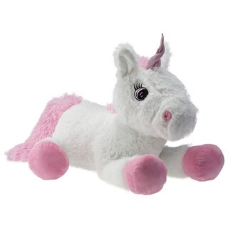 "Pioupiou 30"" Giant Plush Unicorn Stuffed Animal (30 inches long x 18 inches tall)"