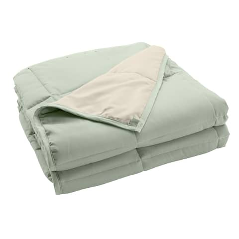 Ultra Soft Reversible Weighted Blanket for Adults and Kids