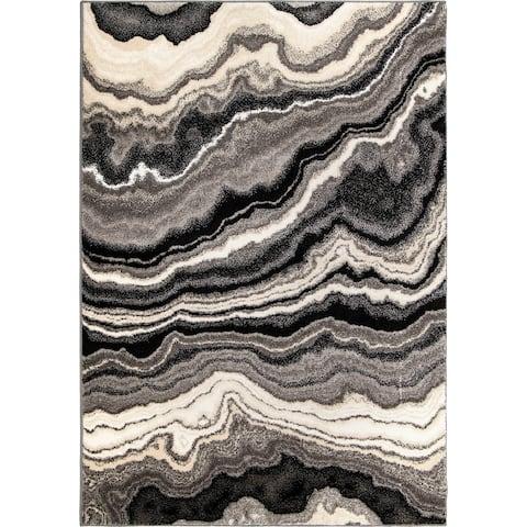 Orian Rugs American Heritage Cascade Gray