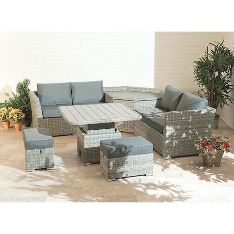 Cambridge Sofa Collection with Storage and Flip Top Table