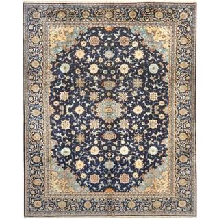 Handmade Kashan Wool Rug (Iran) - 10'6 x 13'3