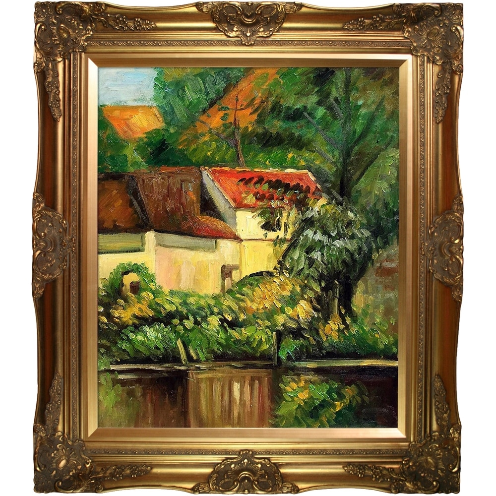 overstockArt Julie Manet with Cat 1887 Artwork by Renoir with Rococo Silver Frame