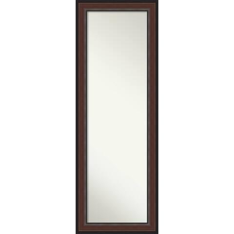 Brown On the Door Mirror Full Length Mirror