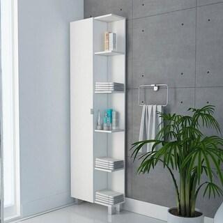 TUHOME Urano Bathroom Cabinet / Linen Cabinet