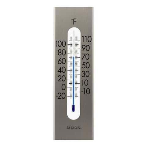 La Crosse 204-1523 9 inch Stainless Steel Thermometer