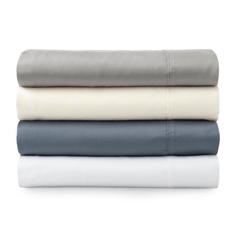 The Welhome Smooth Cotton Tencel Sateen Sheet Set