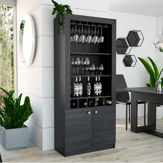 TUHOME Montenegro Bar Cabinet - N/A