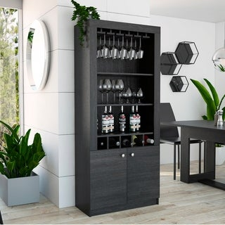 TUHOME Montenegro Bar Cabinet