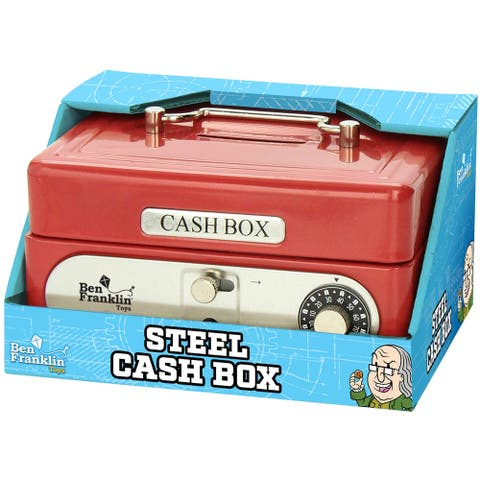 Ben Franklin Steel Cash Box