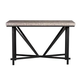 Cape Concrete Top Sofa Table