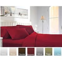 Luxury Microfiber 1800 Bedding - Wrinkle, Fade -Hypoallergenic, Soft - Deep Pockets Sheets & Pillow Case Set