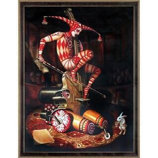 "ArtistBe Agaric Flying Dutchman Reproduction by Adrian Borda w/ Cabernet and Champagne Athenaeum Framed Art, 43.5"" x 33.5"""