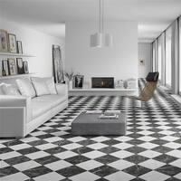 SomerTile 17.88x17.88-inch Buzzini Porcelain Floor and Wall Tile (5 tiles/11.33 sqft.)