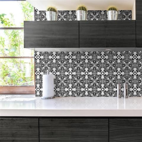 SomerTile 11.75x11.75-inch Harmony Thirties Classic Mosaic Floor and Wall Tile (10 tiles/9.79 sqft.)