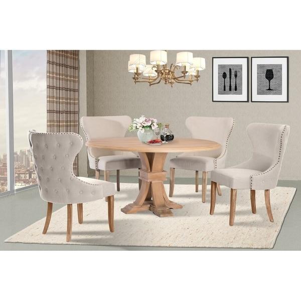 Best Quality Furniture 5-Piece Dining Set
