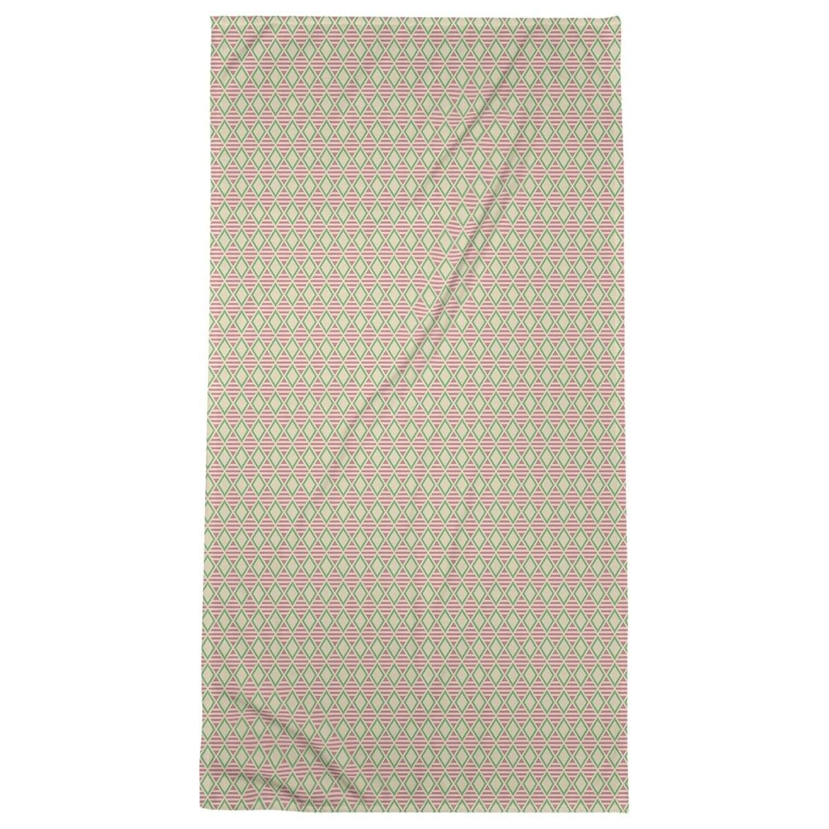 Full Color Geometric Diamonds Beach Towel 36 X 72 On Sale Overstock 28496371
