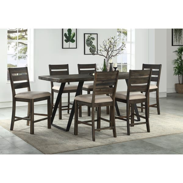 Set Of 2 Aspen Court Counter Height Dining Chairs Overstock 28497870