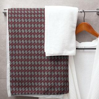 Classic Stripe Diamonds Bath Towel - 30 x 60