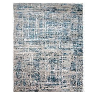"Crius Geras Blue Area Rug (6'6"" x 9'6"") by Gertmenian"