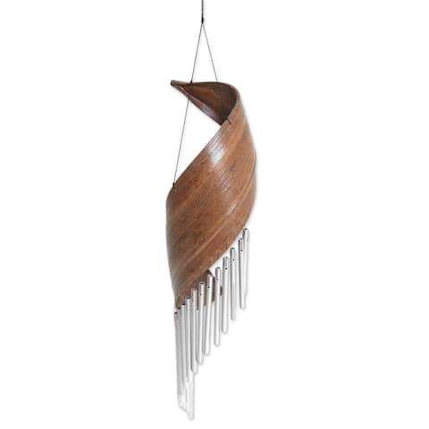 Bali Serenade Coconut Fiber Wind Chime