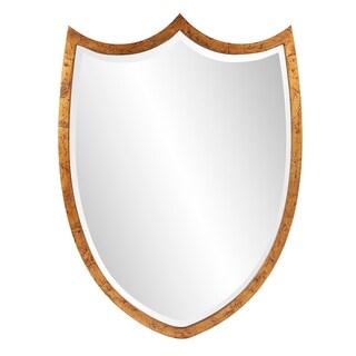 Carson Carrington Tandorfs Shield Antique Gold Mirror