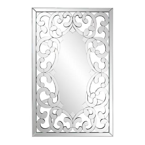 Gabriella Mirror - Silver - N/A