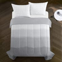 Kenneth Ombre Metallic Comforter Set