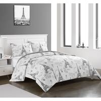 Paris Printed Comforter Set