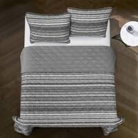 Avery Striped Quilt Set