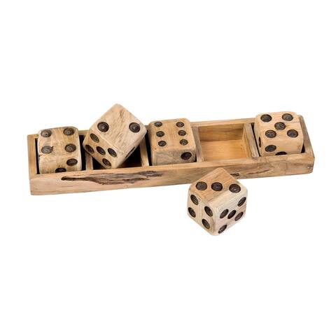 East at Main's Decorative Wooden Dice - N/A