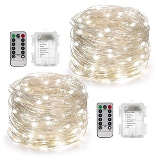 2 Set Fairy Lights Battery Operated 50LED