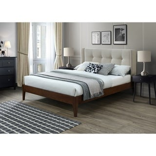 Link to Conway Queen Mid Century Modern Wing Bed Similar Items in Bedroom Furniture