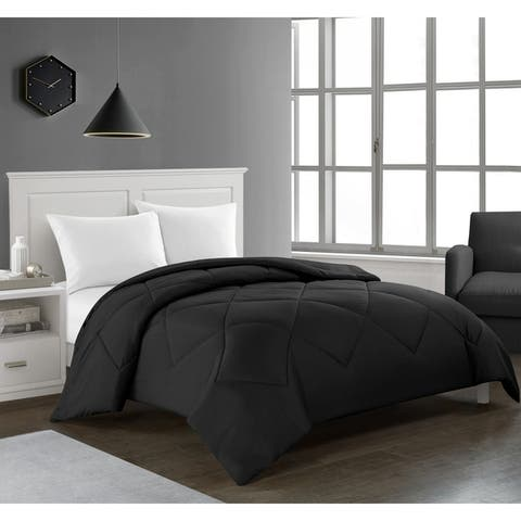 Tommy Solid Reversible Comforter