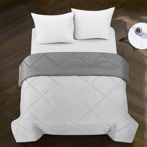 Porch & Den Rider Solid Reversible Comforter