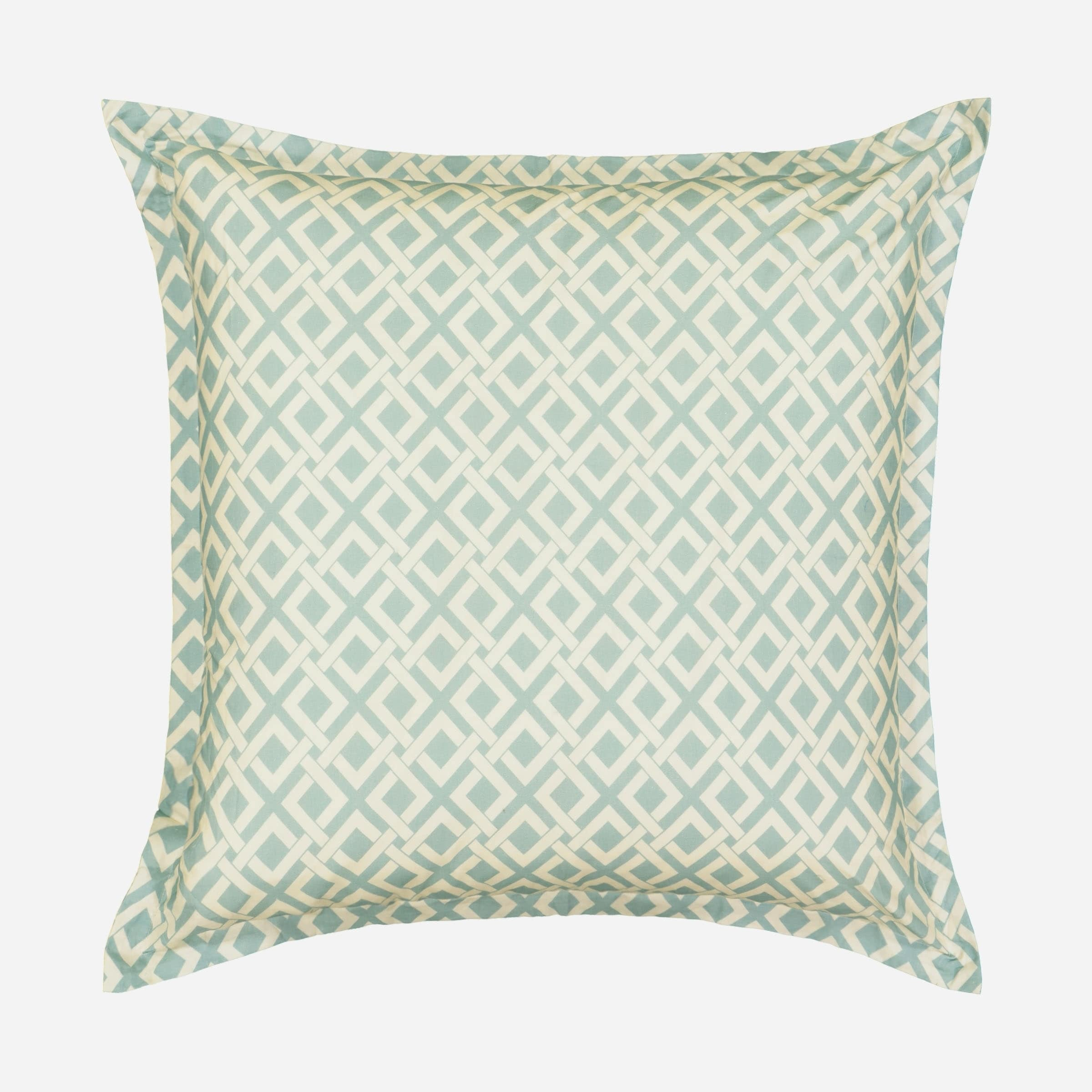 Historic Charleston Throw Pillow Covers Blue 26 X 26 King Charles Decorative Pillow Cases Euro Sham For Sofa Couch Bedroom Living Room Pillow Shams