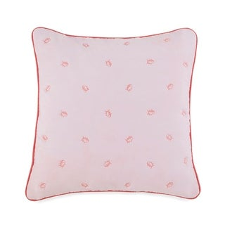 """Southern Tide Skipjack 22"""" Square Embroidered Decorative Pillow"""