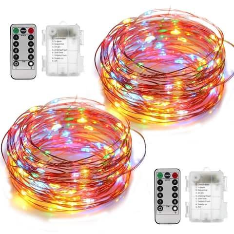 2 Set Fairy Lights Christmas String Lights