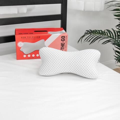 SwissLux Conforming Memory Foam Bone Support Pillow - N/A