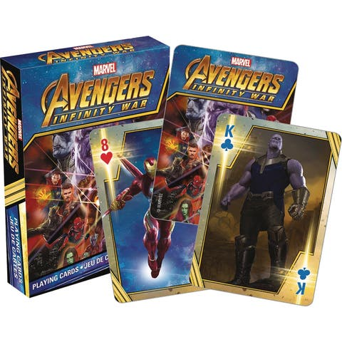 Avengers Inifinity War Playing Cards