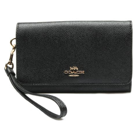 Coach Flap Phone Wallet style with Wrist Strap