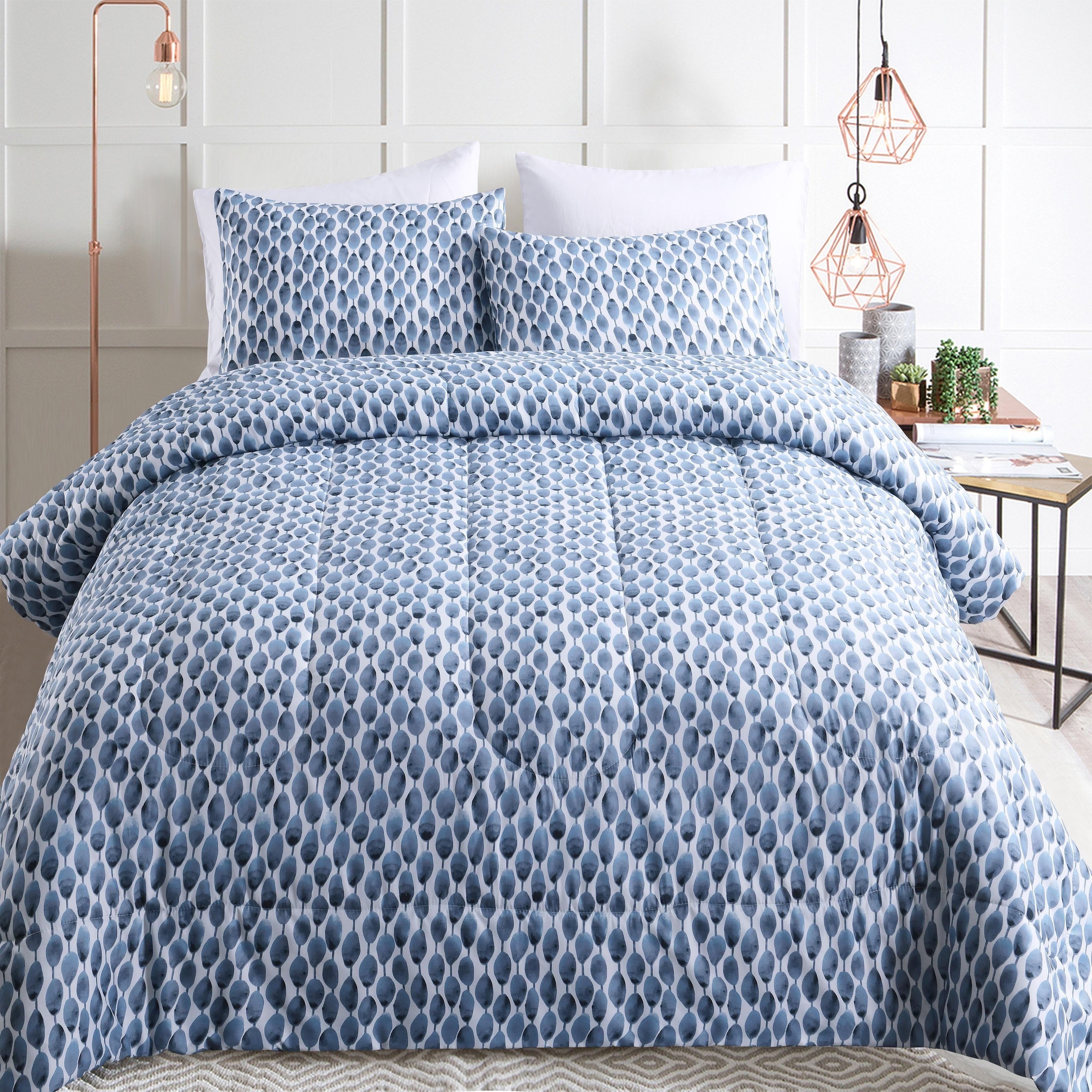 Adrien Lewis Preston 3pc Comforter Set Overstock 28502812 Queen