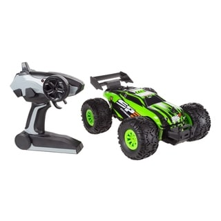 Remote Control Monster Truck 1/16 Scale 2.4 GHz RC Off-Road Toy by Hey! Play! - 11 x 7.75 x 5