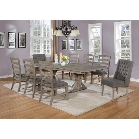 Best Quality Furniture 9-Piece Dining Set